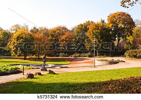 Stock Photo of Castle Park in Chemnitz k5731324.