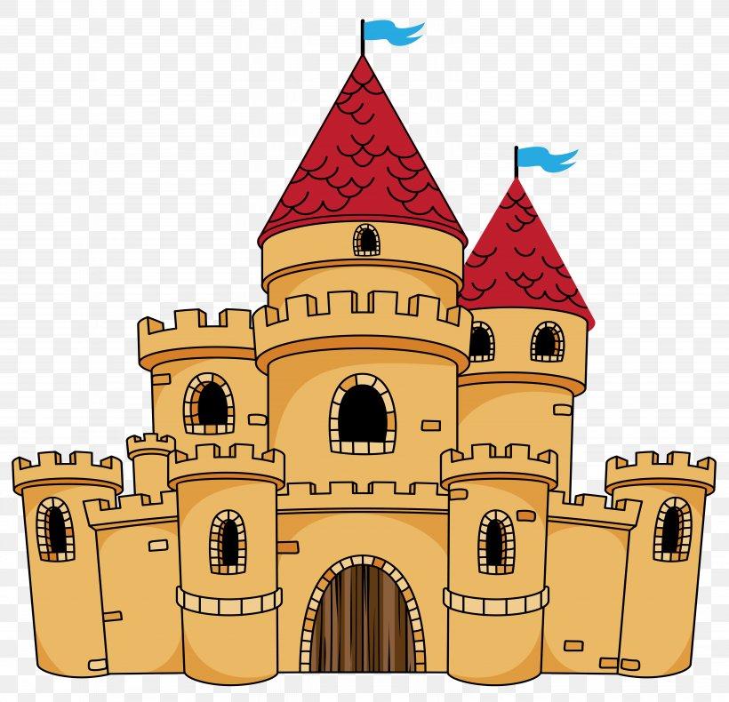Castle Cartoon Drawing Clip Art, PNG, 6353x6128px, Castle.