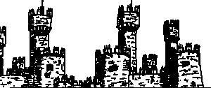 RPG Map Symbols: Ruins Clip Art Download.