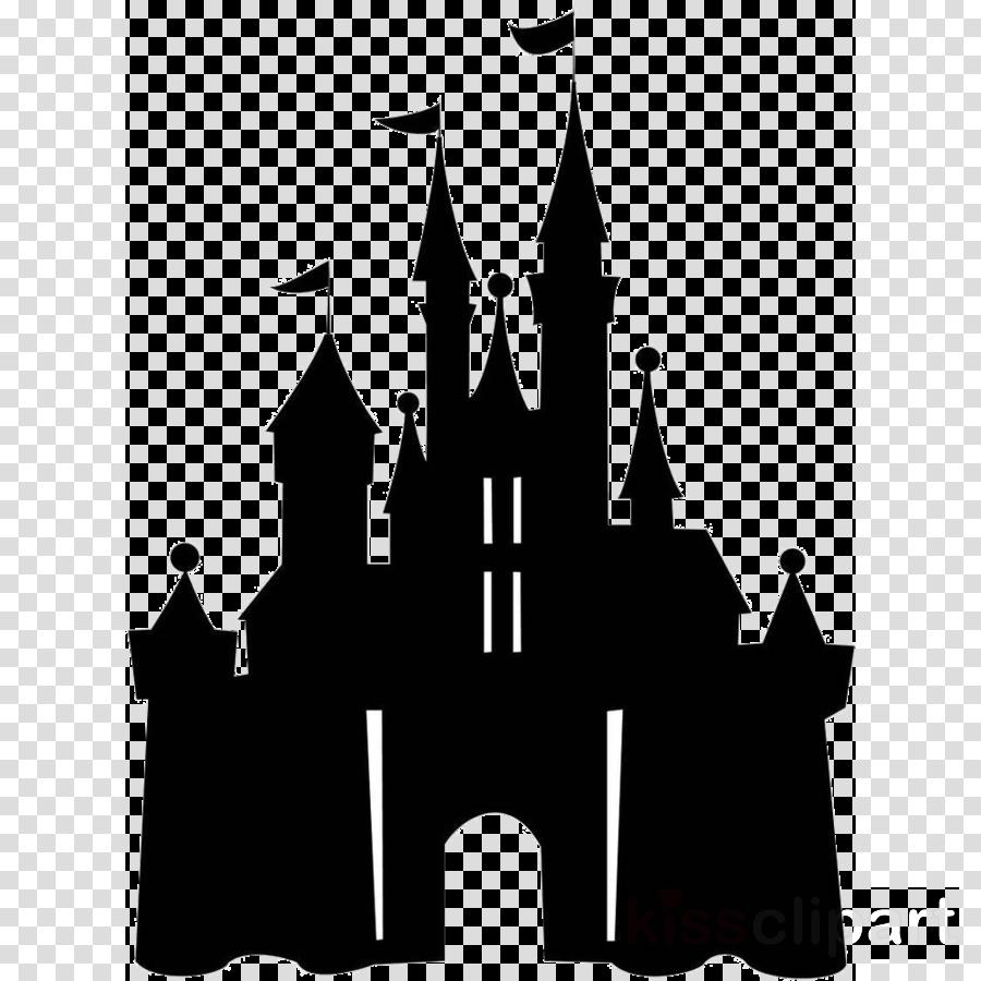landmark clip art castle silhouette black.