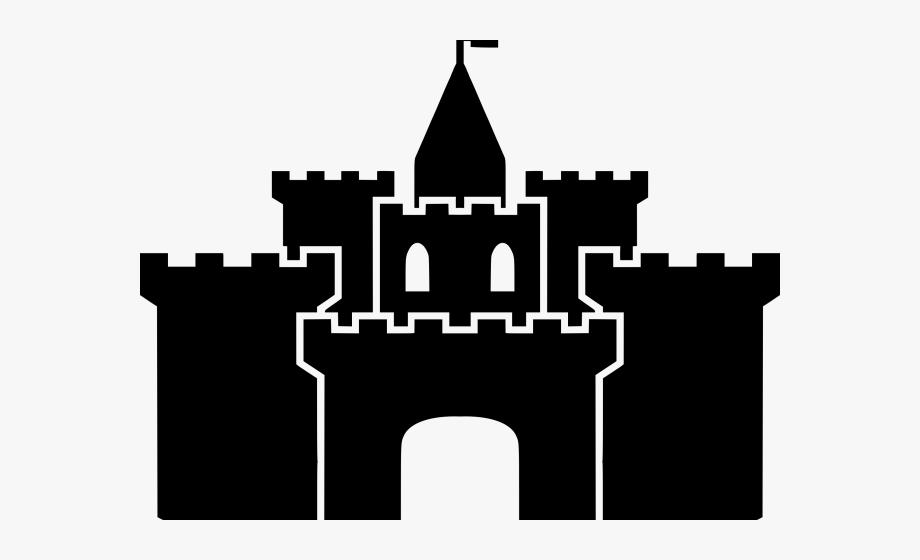 Silhouette Clipart Castle.