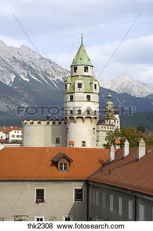 Pictures of Burg Hasegg Castle Hall in Tirol town Austria thk2308.