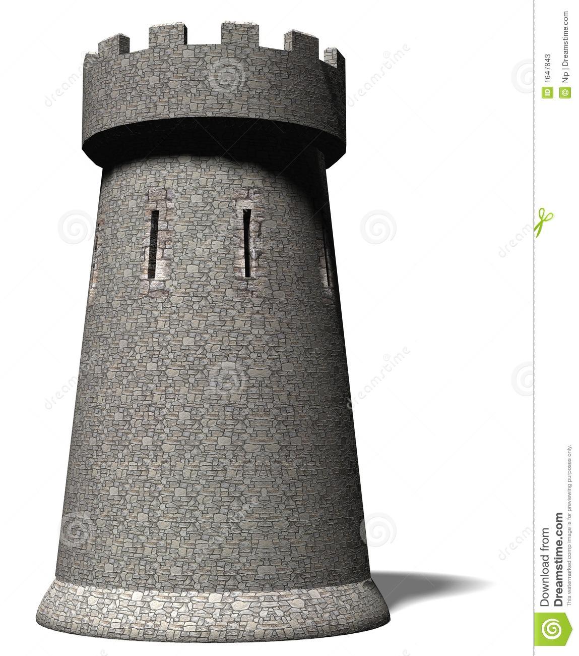 Castle Tower Clipart.