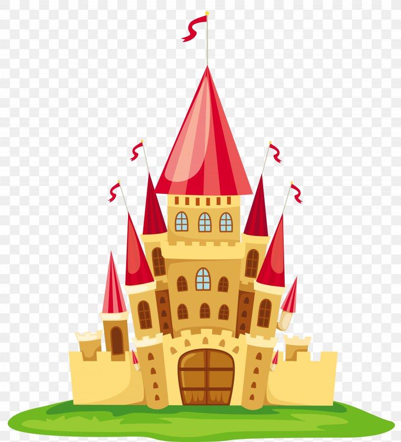 Cartoon Castle Clip Art, PNG, 3850x4243px, Castle, Cake.