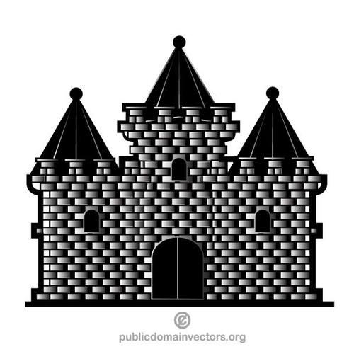 Castle vector clip art.