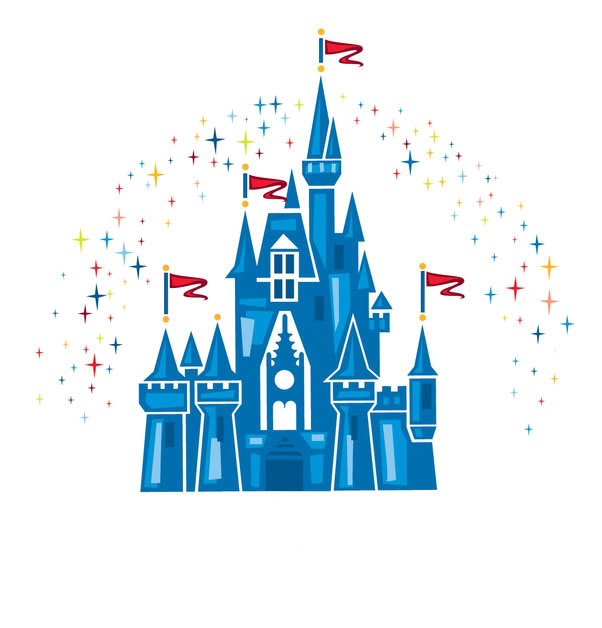 walt disney world castle clipart silhouette #12