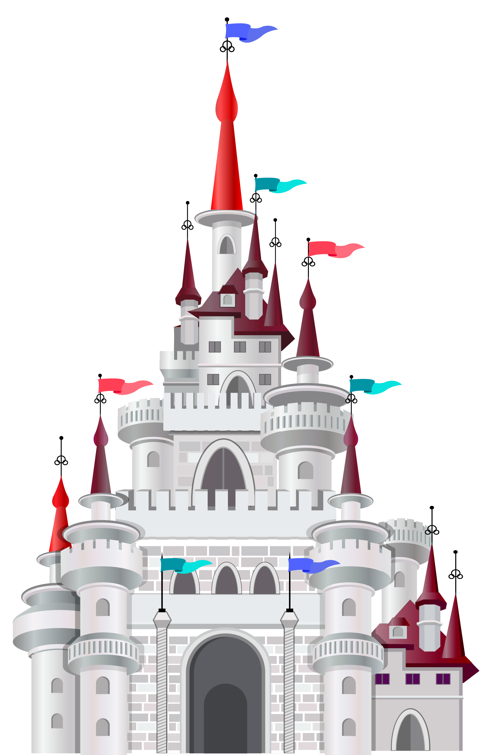 clipart of castles #1