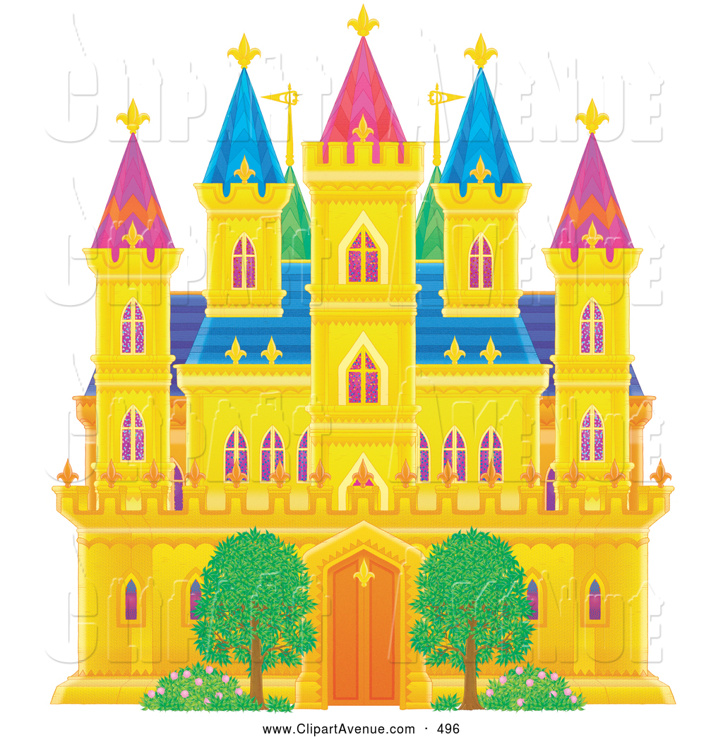Clipart castles free.