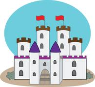Free Castles Clipart.