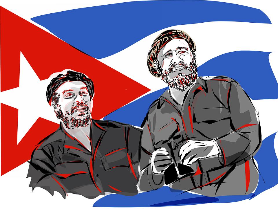 Free photo Cuba Politician Castro 1959 Fidel Revolutionary.