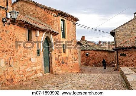Stock Photo of Castrillo de los Polvazares, Leon, Camino de.