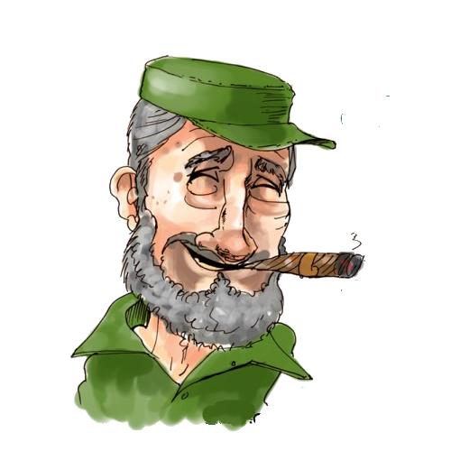Free Fidel Castro Clip Art.