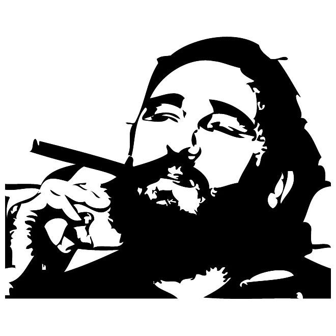 Castro clipart.