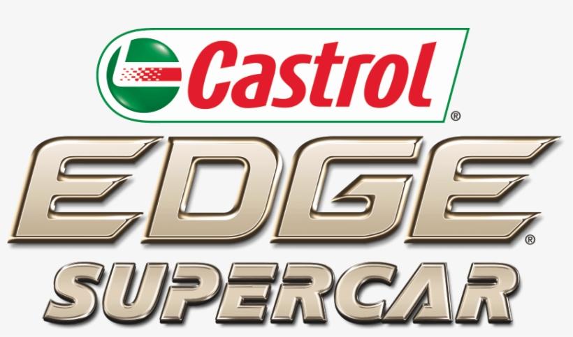 A Castrol Edge Supercar Transparent PNG.