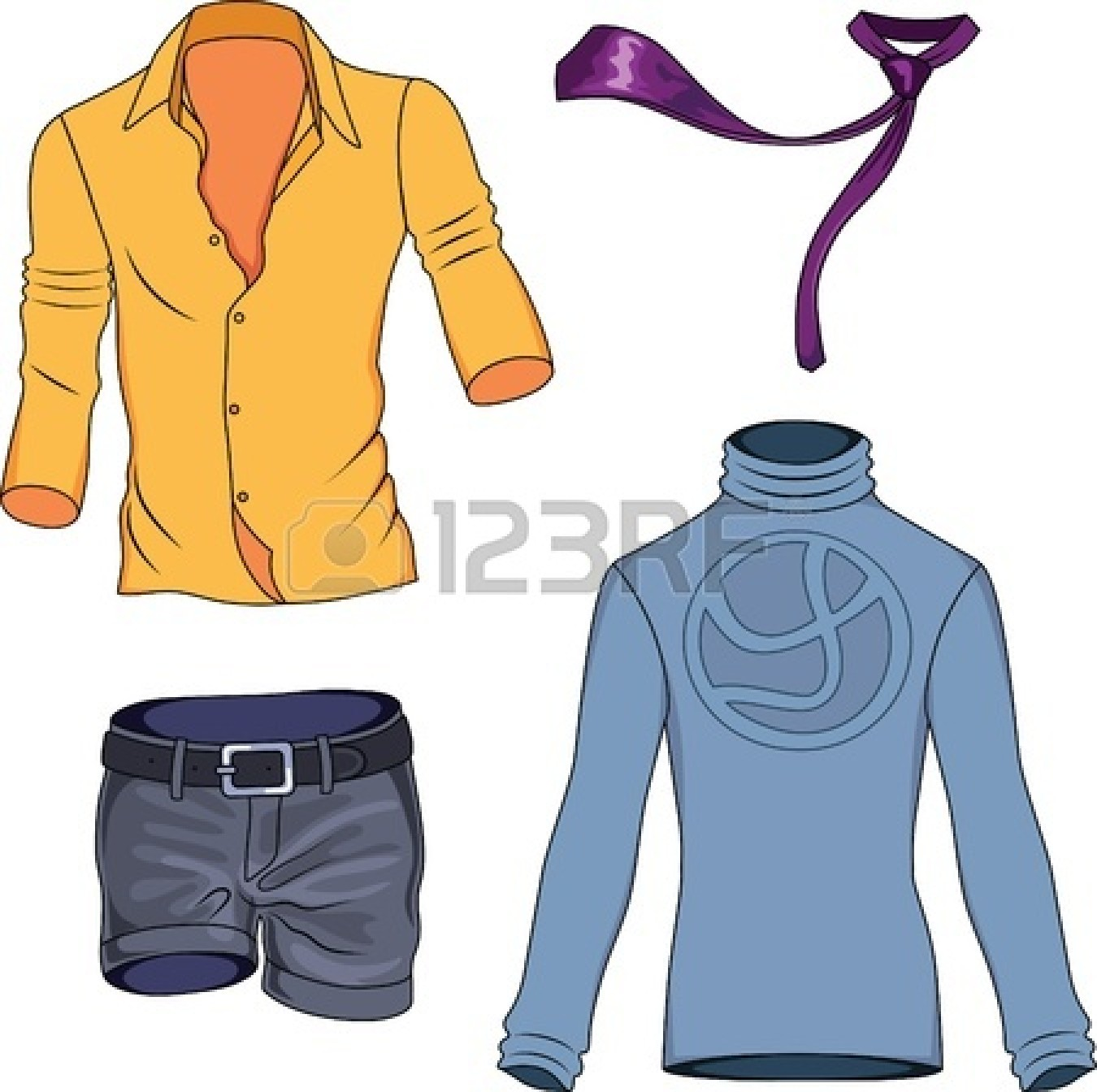Casual clothing clipart - Clipground