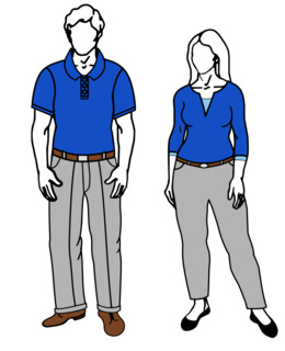 Casual Friday clipart.