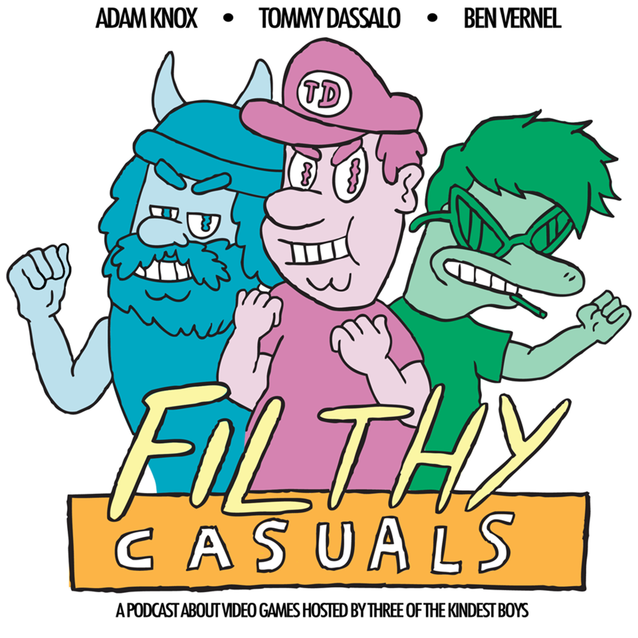 Filthy Casuals with Tommy Dassalo, Ben Vernel and Adam Knox clips.