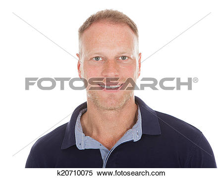 Stock Image of Handsome Mid Adult Man In Casuals k20710075.