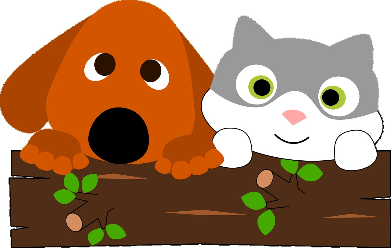 In Cat Dog Clipart And Cartoon 4.