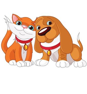 Cat And Dog Cartoontransparent png image & clipart free download.