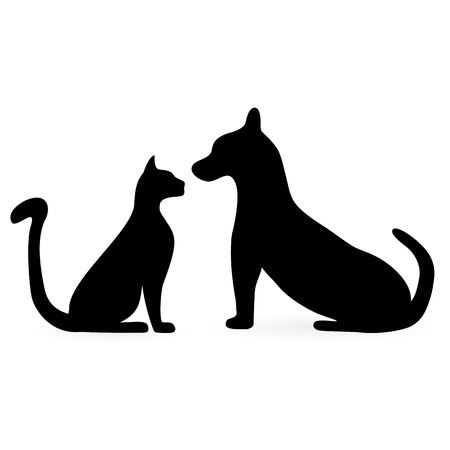 35,856 Dog And Cat Cliparts, Stock Vector And Royalty Free Dog And.