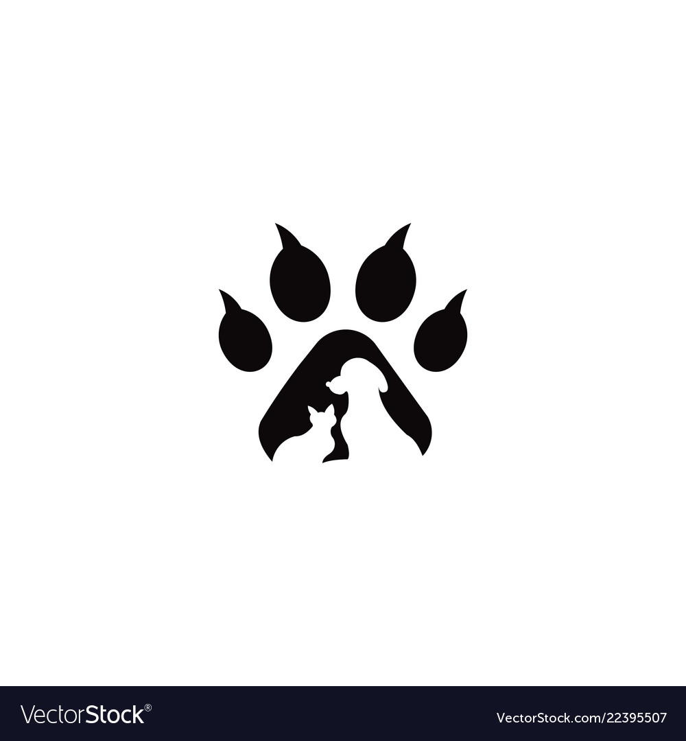 Pets logo template this cat and dog logo co.