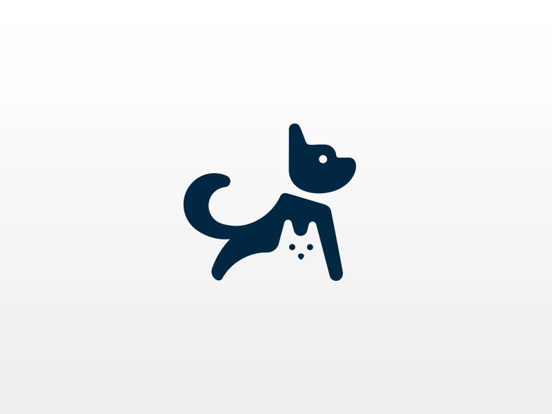 Cat and Dog logo by Mohi Hassan on Dribbble.