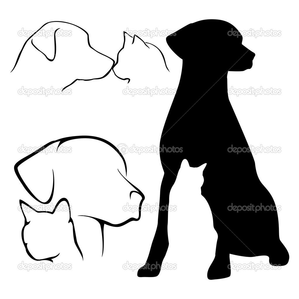 Cat And Dog Clipart.