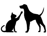 Dog And Cat Silhouette at GetDrawings.com.
