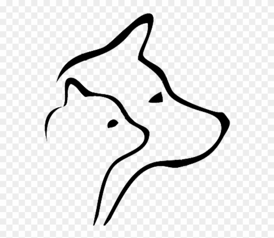 Afbeeldingsresultaat Voor Cat And Dog Silhouette.