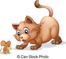 Cat And Rat Clipart.
