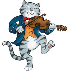 cat and the fiddle.