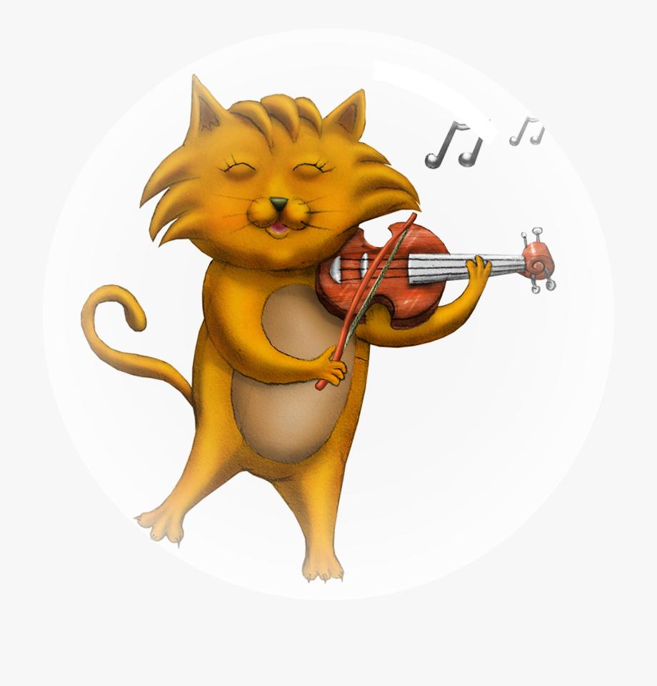 Classical Clipart Small Violin.