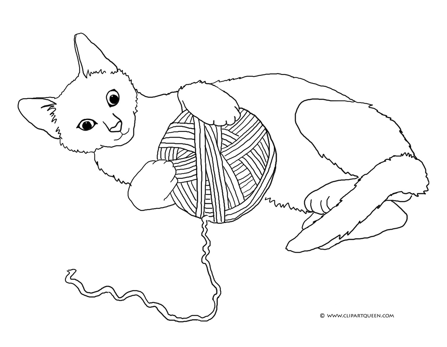 yarn coloring pages - HD1476×1146