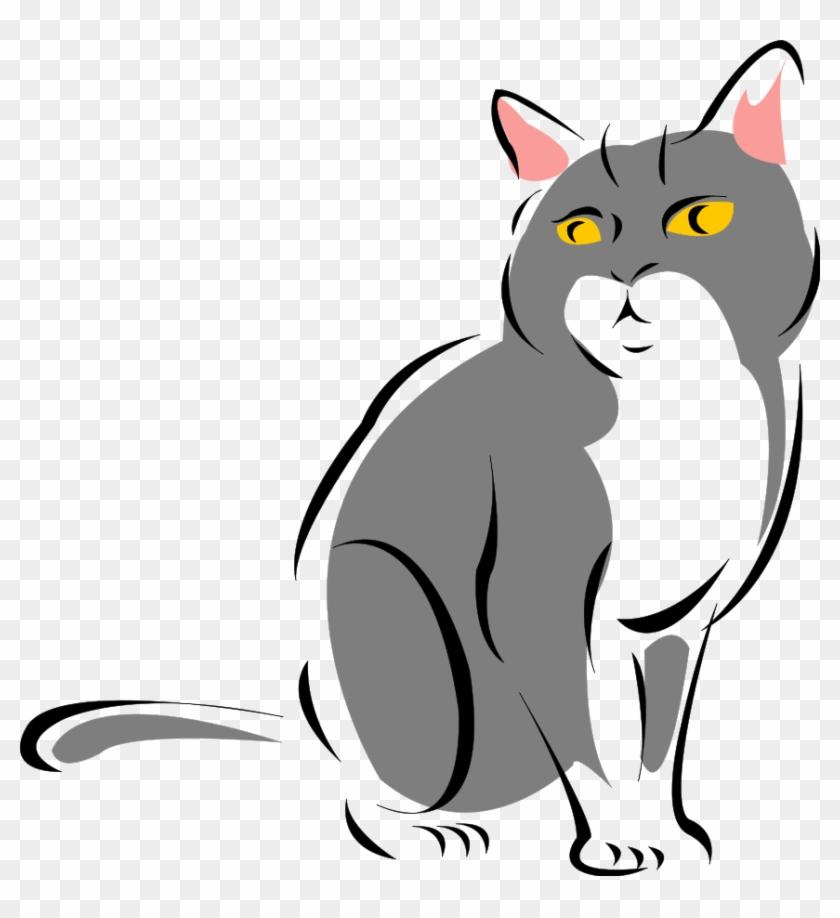 Cat Clipart, Cats Face Clip Art Photo, Cat Graphics.