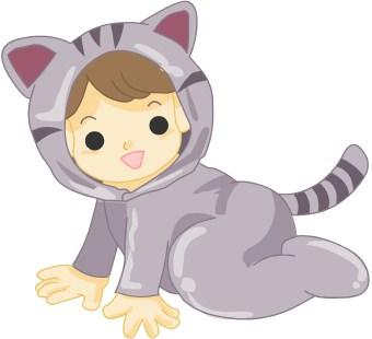 Cat Costume Clipart.