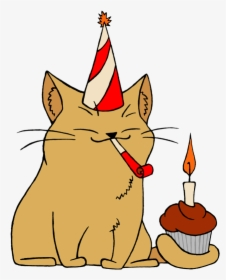 Transparent Cat In The Hat Birthday Clipart.