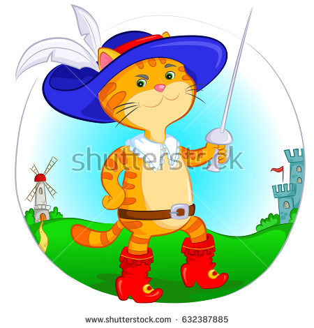 Puss In Boots Stock Images, Royalty.