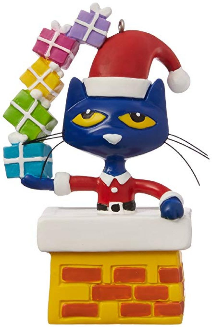 pete the cat christmas clipart.