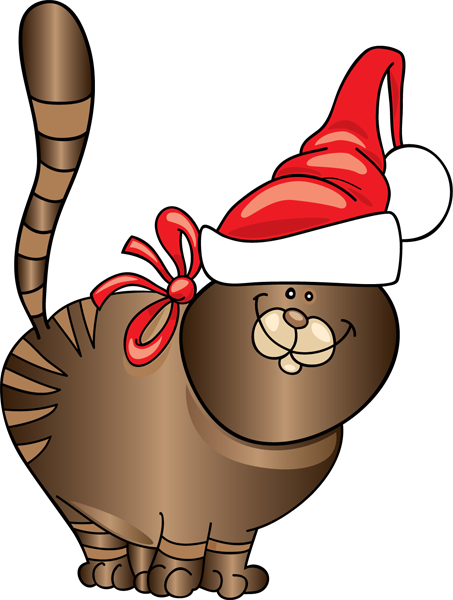 Free Christmas Cat Clipart, Download Free Clip Art, Free Clip Art on.