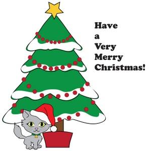 Free Christmas Tree Clipart Image 0515.