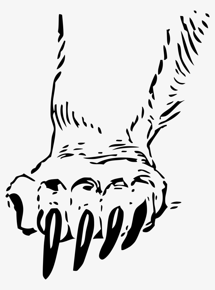 Grizzly Paw Clipart, Vector Clip Art Online, Royalty.