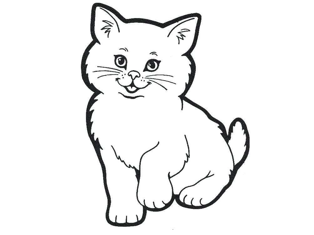 Cats clipart black and white 3 » Clipart Station.