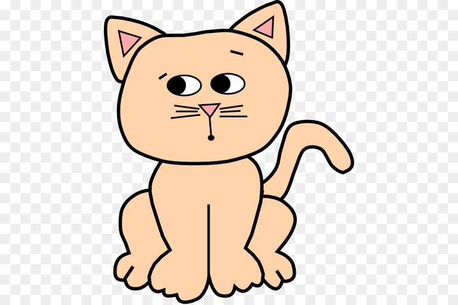 Cat Cartoon png download.