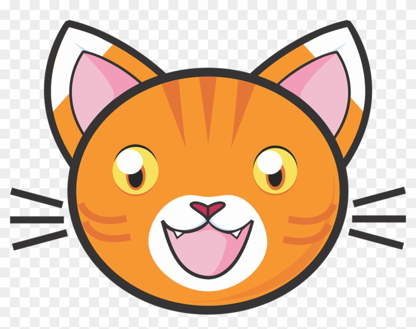 Calico Cat Png Face Orange Clipart Library Stock.