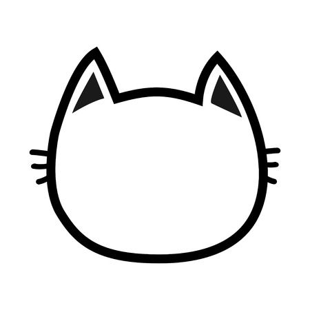 30,465 Cat Face Stock Vector Illustration And Royalty Free Cat Face.