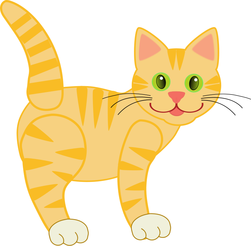Cat Images For Kids Clipart.
