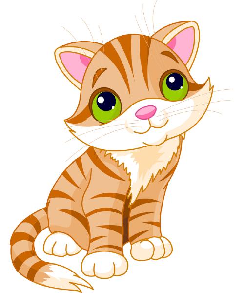 Bashful Kitty.