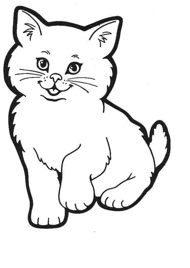 Free Cat Outlines, Download Free Clip Art, Free Clip Art on.