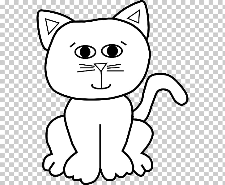 Cat , cat outline PNG clipart.